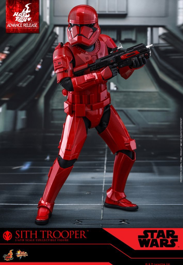 RT @FirstOrderBase: We welcome the SITH TROOPER into our First Order ranks in #TheRiseOfSkywalker. https://t.co/Euy6SJl1Zg