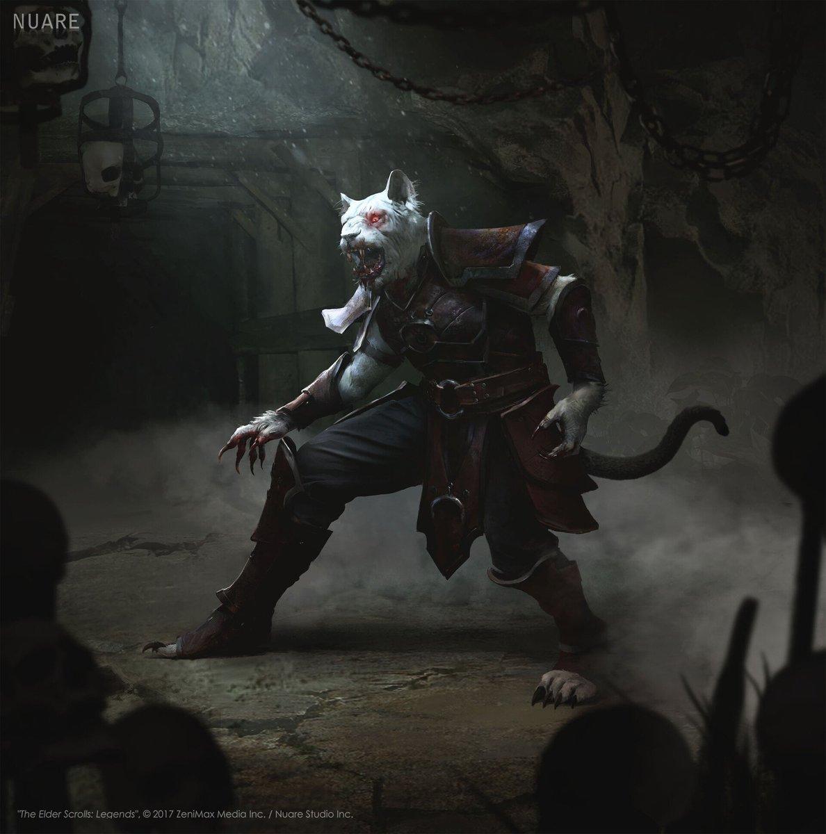 """Tenarr Zalviit Nightstalker """"The Elder Scrolls: Legends"""