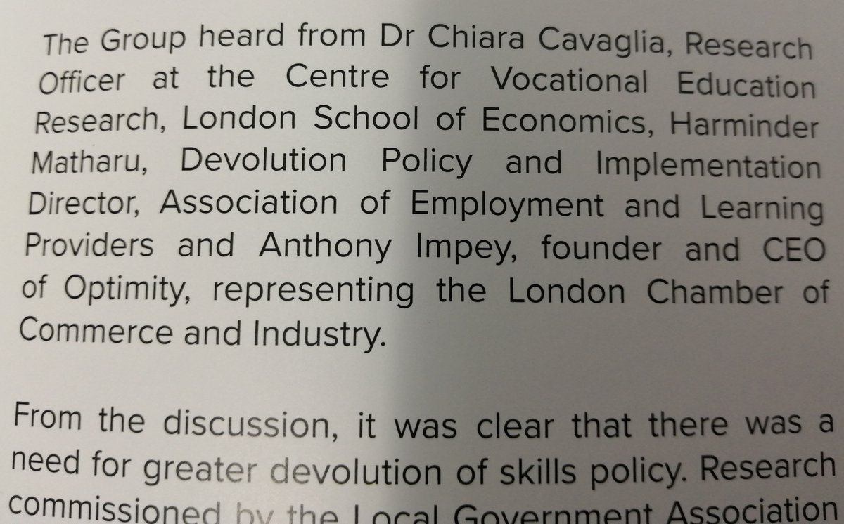 Fantastic to have our board member @Impmister representing LCCI's voice in the debate on devolution and #apprenticeships in @ApprenticeAPPG's new report: connectpa.co.uk/wp-content/upl…