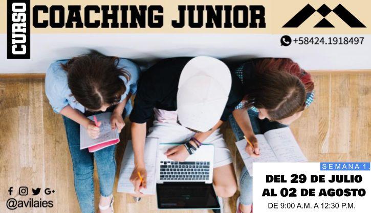 ¡Este #verano vuelve el Curso de #coaching para jóvenes de 14 a 18 años de #IIESÁvila! https://mailchi.mp/7c69e5e59547/curso_coaching_junior_verano2019-1859257… … #CoachingJunior #Caracas  @Avilaies