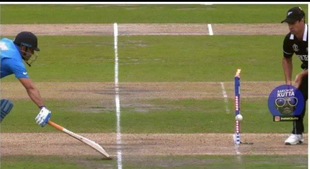 The gap between his bat and the world cup trophy. Amazing game shown by Jadeja & Dhoni  Hard luck today!!!  NewZealand well played.. #INDvsNZL <br>http://pic.twitter.com/0jsVeKFKd2