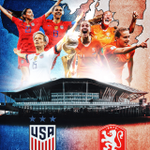 Image for the Tweet beginning: Huge congrats to the #USWNT