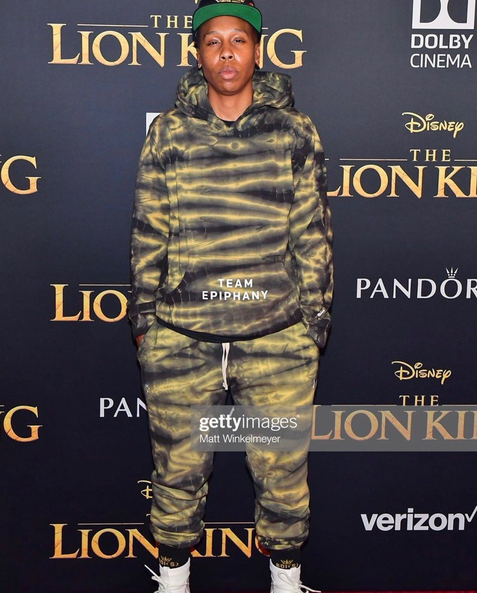S/O to ⁦@LenaWaithe⁩ reppin' the set! 💡 cc: ⁦@TeamEpiphany⁩