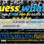SMR | Celebrating THREE YEARS of #ProEU #StopBrexit FREE Radio Shows! 🥳  LISTEN for FREE to our NEW SHOW whenever you like 👇 https://t.co/2iRxgM6G1Y  SUPPORT the UK's Premier Monthly Pro-EU Show and help us GROW! 👇 https://t.co/AVZ5uicS0V  Thank EU! 💫🇪🇺💫