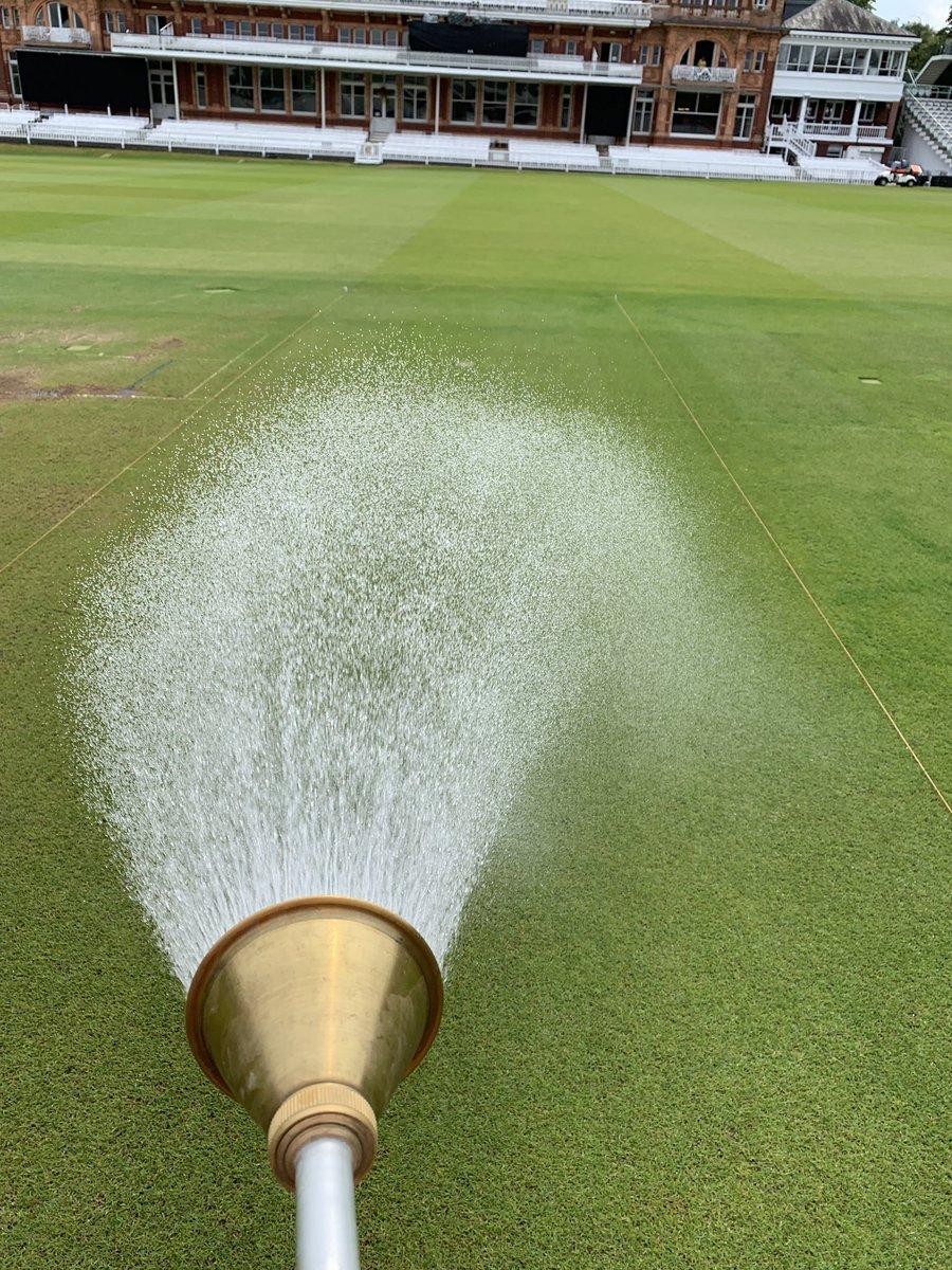 Preparation has begun for the @Irelandcricket vs @ECB_cricket test match @HomeOfCricket #cricket #lords #ireland