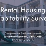 Image for the Tweet beginning: Are you a renter in