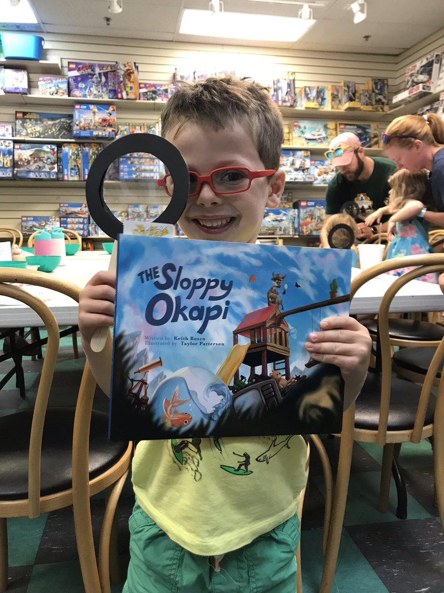 We got to hear a new author and book <a target='_blank' href='http://twitter.com/browseabout'>@browseabout</a>. The book was a clever way of convincing us to keep rooms clean in order to find our special possessions: The Sloppy Okapi. It was an extra treat getting to see and hear the author <a target='_blank' href='http://twitter.com/sloppyokapi'>@sloppyokapi</a>. <a target='_blank' href='http://search.twitter.com/search?q=kwbpride'><a target='_blank' href='https://twitter.com/hashtag/kwbpride?src=hash'>#kwbpride</a></a> <a target='_blank' href='https://t.co/e0MBqqFiKU'>https://t.co/e0MBqqFiKU</a>