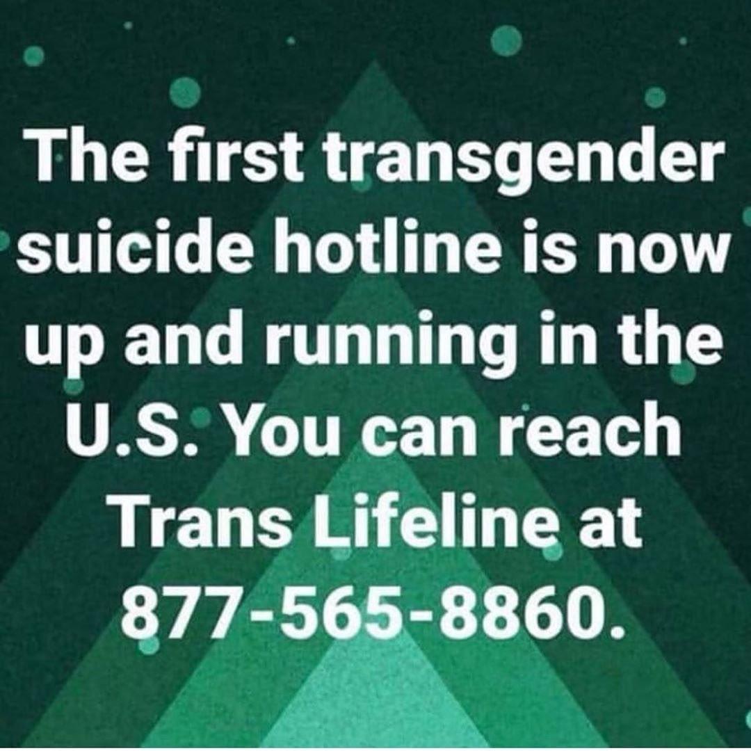 #TransLifeline!