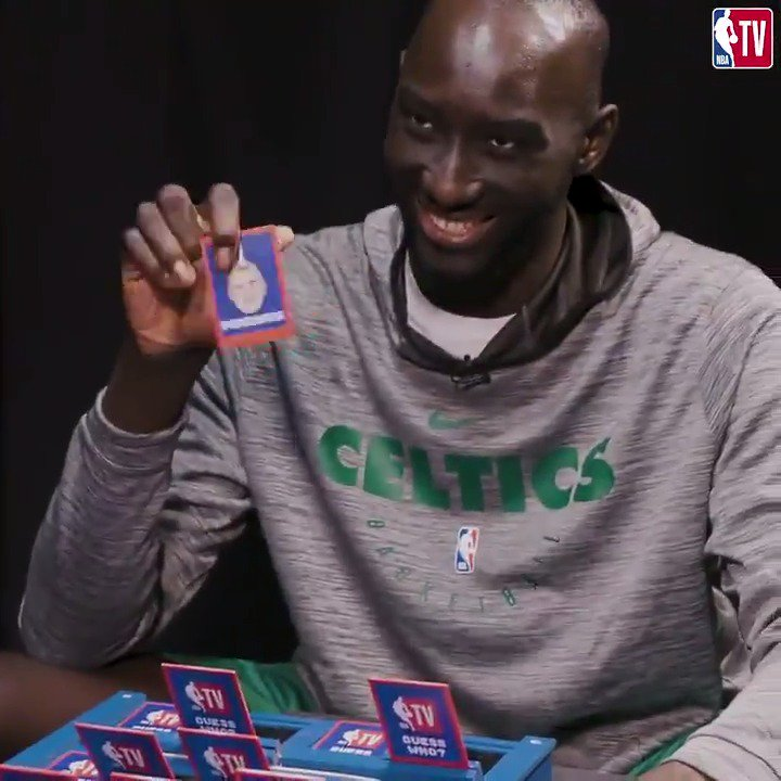"""""""Run that back, Turbo!"""" 😂  Another edition of NBA """"Guess Who?"""" with @tackofall99, @JaMorant, and more! #NBASummer"""