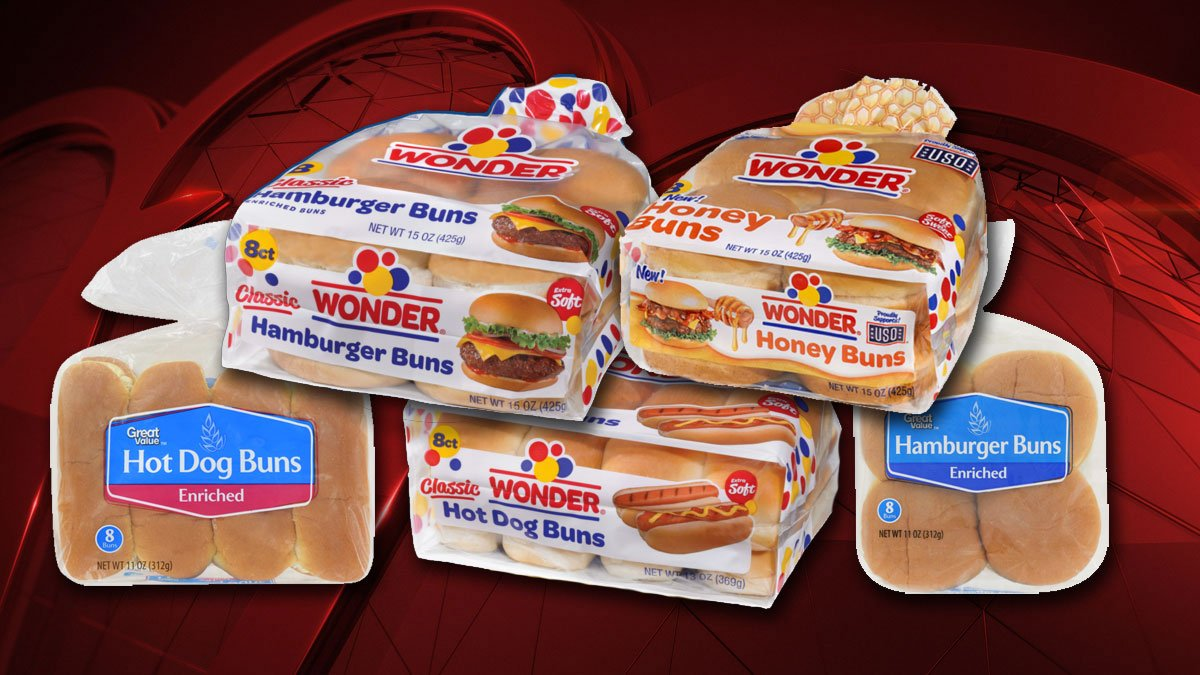 Nbc Dfw Pa Twitter Wonder Great Value Hamburger Hot Dog Buns Among Dozens Of Brands Recalled Over Choking Hazard Https T Co 5retx1ujpx Breaking Recall Https T Co 90ehwyu73x