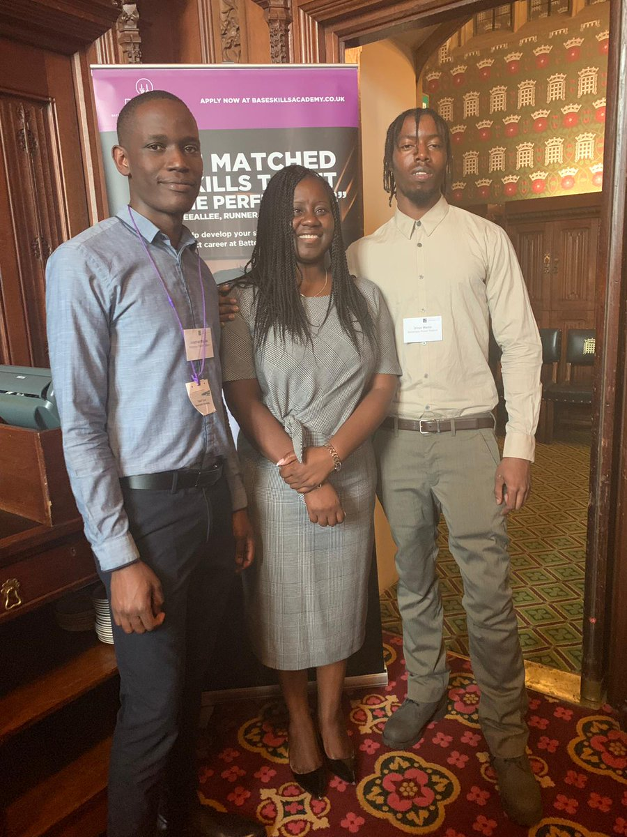 It was great to join Jonathan and Omar, two Battersea residents, at the @ApprenticeAPPG in Parliament yesterday evening. Apprenticeships offer a great route to work and to tackle our skills gap, but more needs to be done to help young people take-up these opportunities.