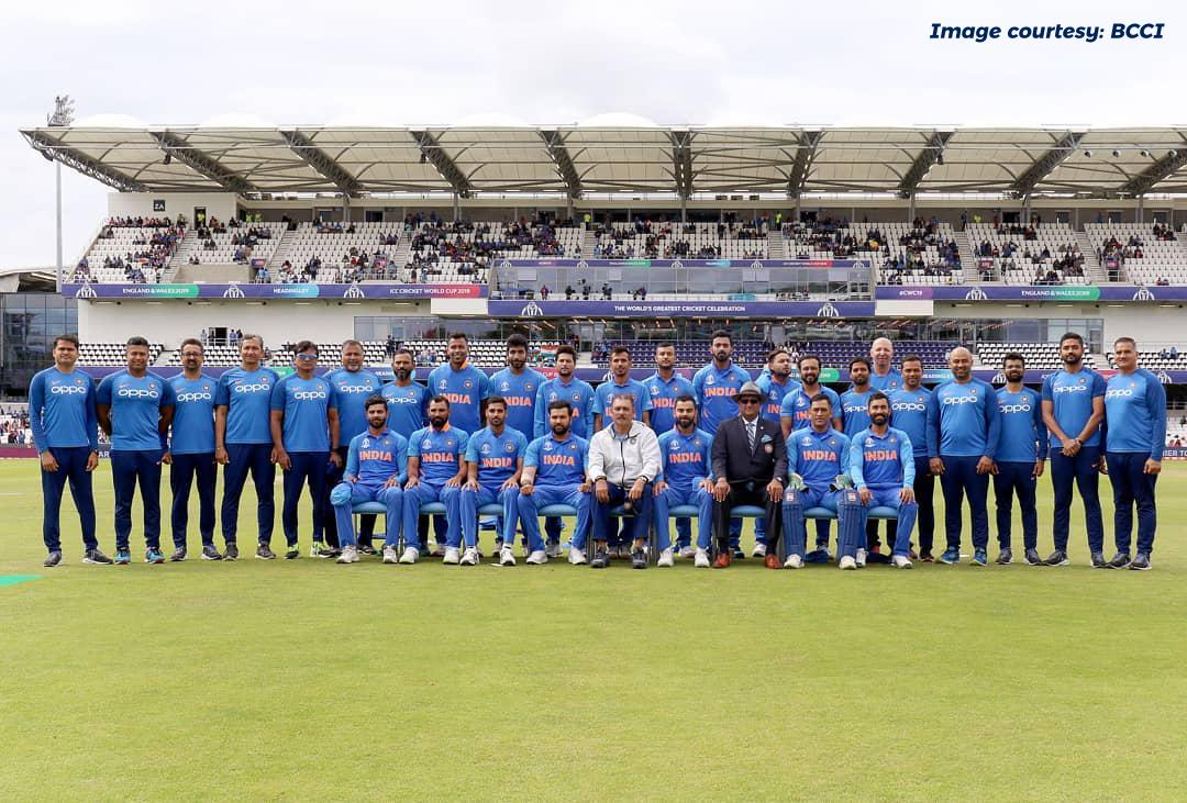 Definitely, Everyone is Sad that we didn't qualify for FINALS. But #TeamIndia you batted, bowled, fielded well and got us into Semi's, You guys are already CHAMPIONS ..!!   Wins and losses are a part of life. Best wishes to the team for their future endeavours. #INDvsNZL #CWC19<br>http://pic.twitter.com/xCviG6VkuW