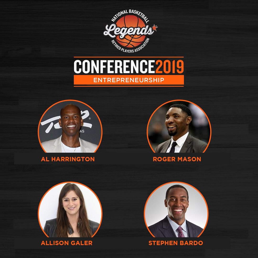 The #Entrepreneurship Summit feat. @cheddahcheese7, @MoneyMase, @AllisonGaler and @stephenbardo is set to begin!   #LegendsConference #NBASummerLeague #LegendsofBasketball