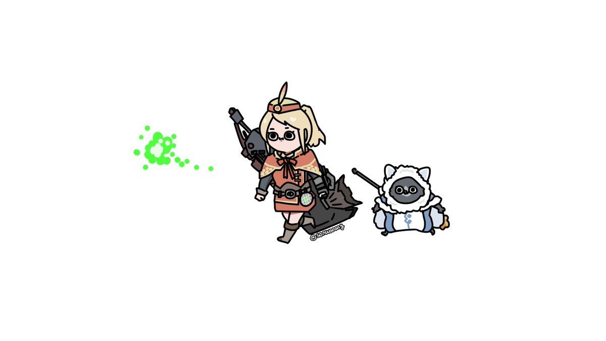 RT @sonwooang: Monster Hunter World My Character :) https://t.co/cGhdN8xITz