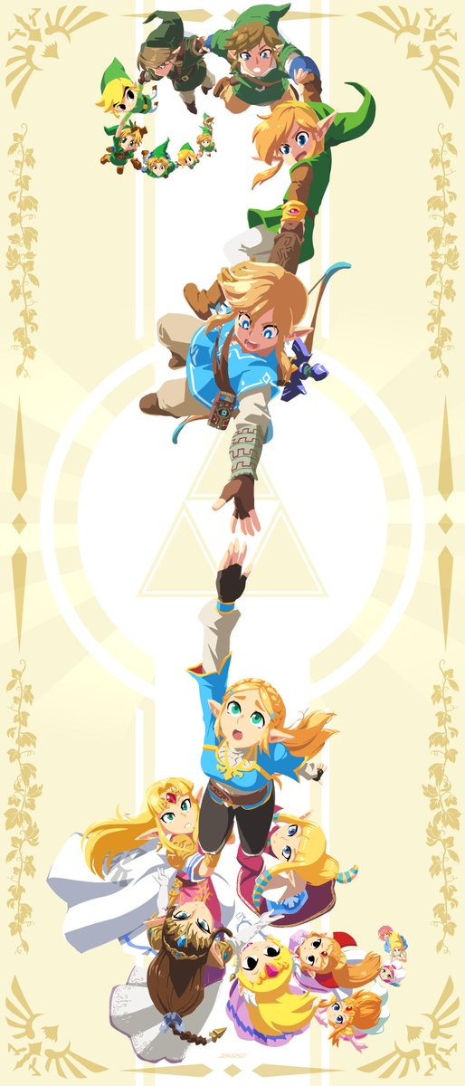 Replying to @TheJohnSu: The Chain Link of Zelda: It's Dangerous to Go Alone