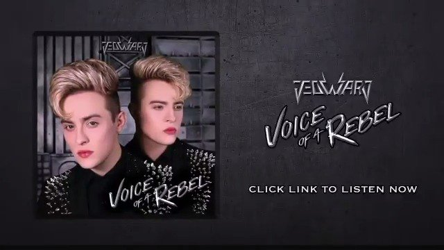 'Voice Of A Rebel' The New Album By Jedward  Stream & Download Now  #JedwardVoiceOfARebel