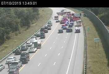 Breaking: I-93 South in Salem is closed due to a vehicle