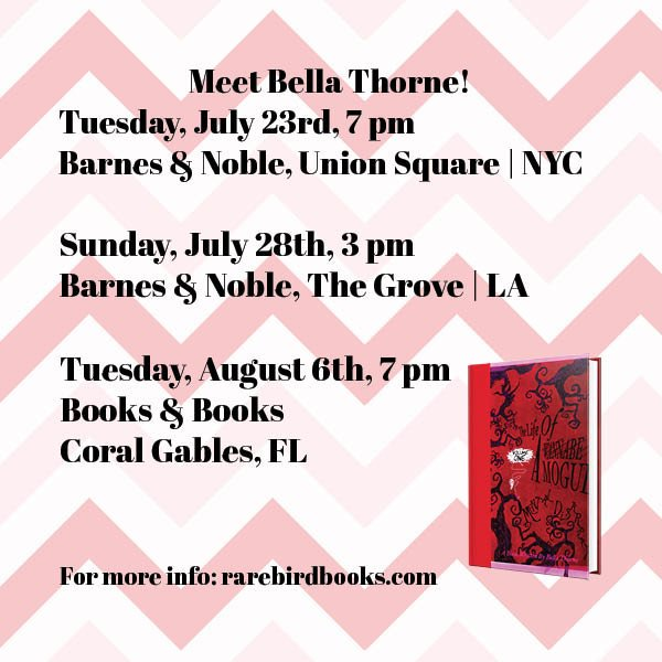 Hey @bellathorne fans! We have three upcoming events with Bella and her new book!