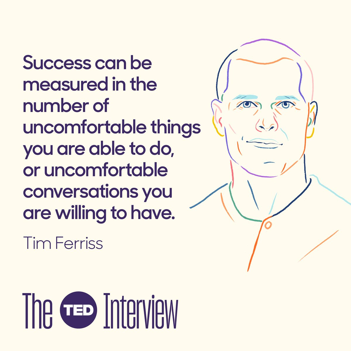 Exciting new episode of #TheTEDInterview just posted with none other than @tferriss. I pushed him hard on a couple of issues, and he responded so impressively. Much wisdom here... from stoicism to psychedelics. https://bit.ly/2JRTk5w