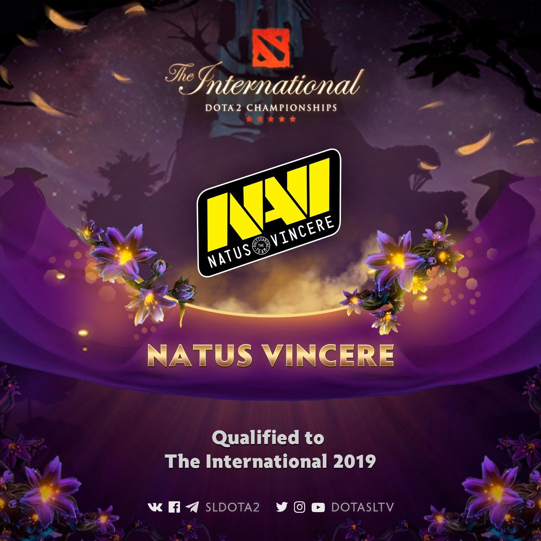 The International 2019, dota2, natus vincere