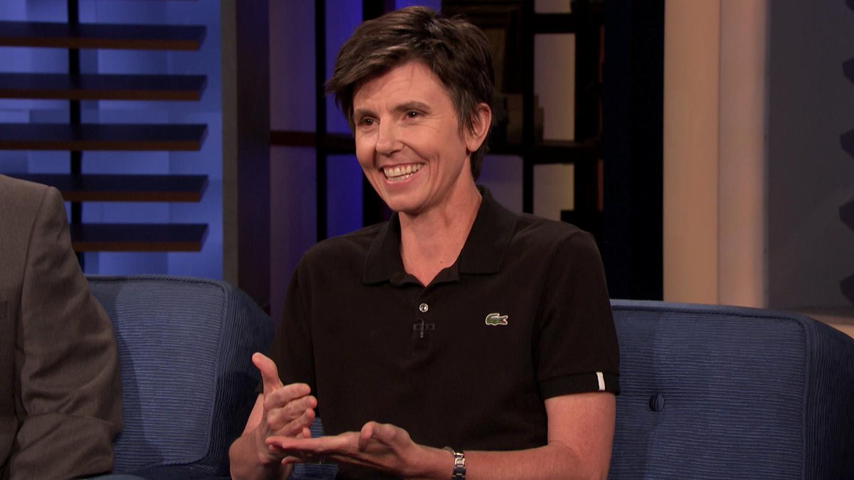 .@TigNotaro didn't recognize Anne Hathaway. https://to.teamcoco.com/2Sdrcw4 #CONAN