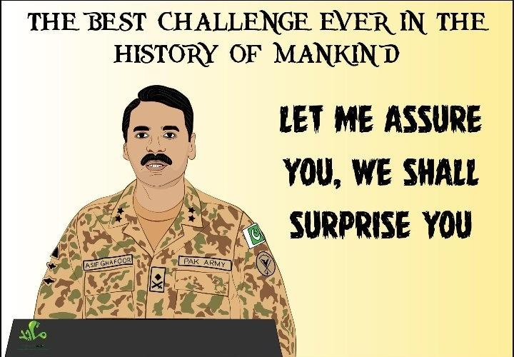 And yes most importantly we have a surprise day as well to celebrate 😀💪 What you have ? U guys just have embrassements either it is from PakAirforce PakNavy or PakArmy  Dude first deal with Khalistaan movements and human genocides in Kashmir  #27thFeb #SurpriseDay  #AbhiNandan