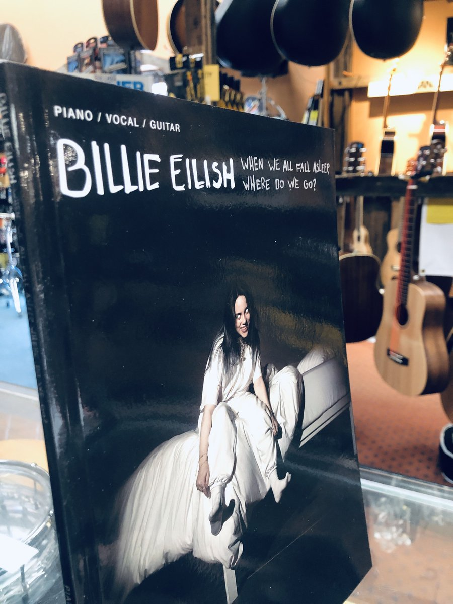 Billie Eilish - When We Fall Asleep, Where Do We Go?! Piano, vocal and guitar songbook IN STOCK! Works for ukulele also! Call to reserve your copy today - 416.699.8333 #wearemusic #billieeilish #toronto #the6ix #upperbeaches<br>http://pic.twitter.com/c8O1uRElg4