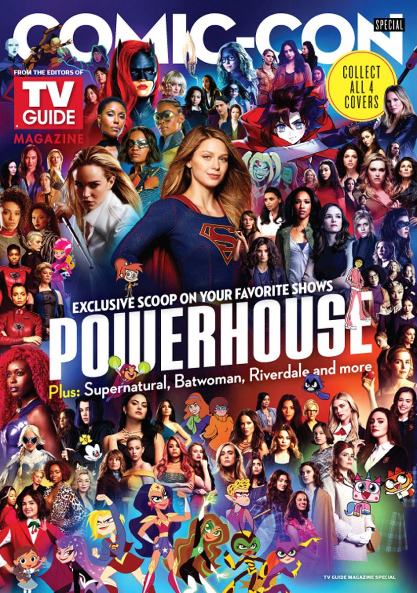 Now this is what I call super! Thanks @TVGuide for including #MiaSmoak in with these kickass powerhouse women! 💥💥 @Comic_Con #SDCC @cw_arrow @thecw