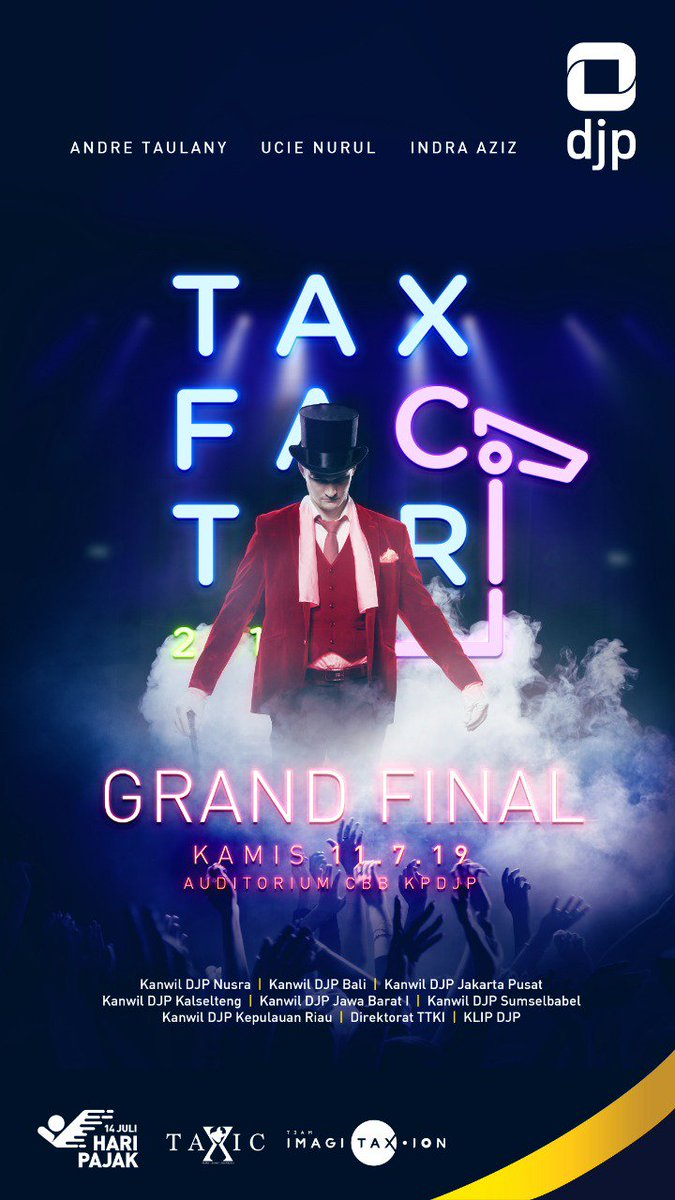 Today is the day! #TaxFactor2019 #HariPajak <br>http://pic.twitter.com/u3JbXcLsbG