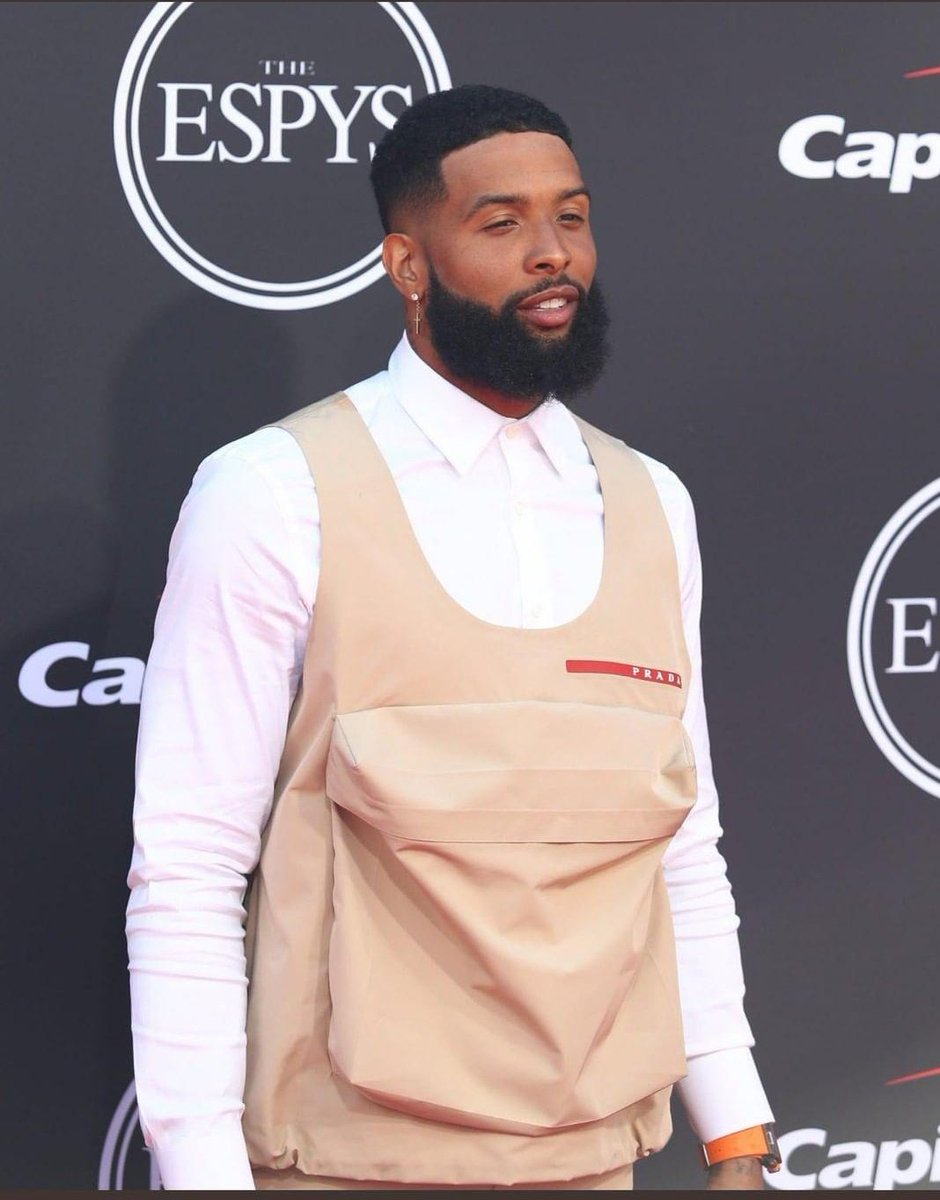 Odell Beckham out here looking like a grown man #espys2019