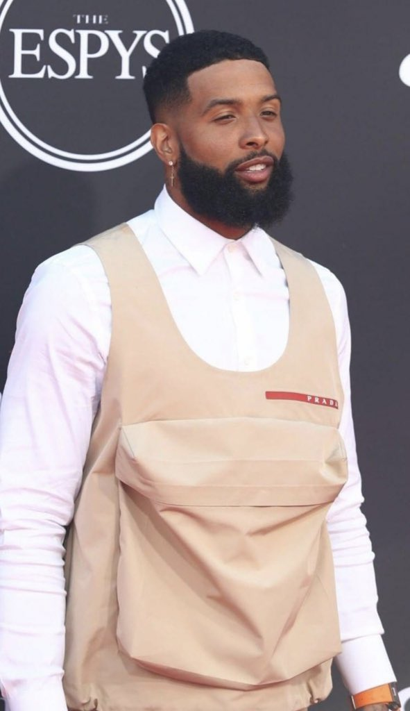 Odell Beckham Jr. is about to sell so many damn Thin Mints. #espys2019