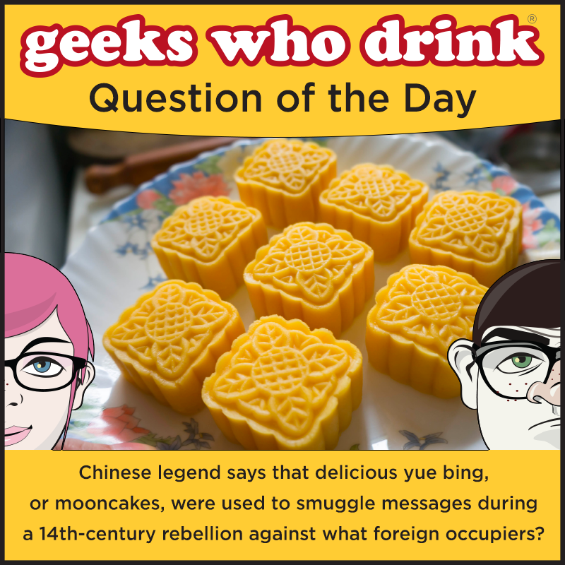 Our #Friends quiz is tonight! Find a list of that will be accepting walkups at http://tinyurl.com/GWDFriendsReg. In honor of Joey and Chandler, this week the #QOTD is all about sandwiches and Bings.  #geekswhodrink #trivia