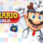 Image for the Tweet beginning: Dr. Mario World, Nintendo's latest