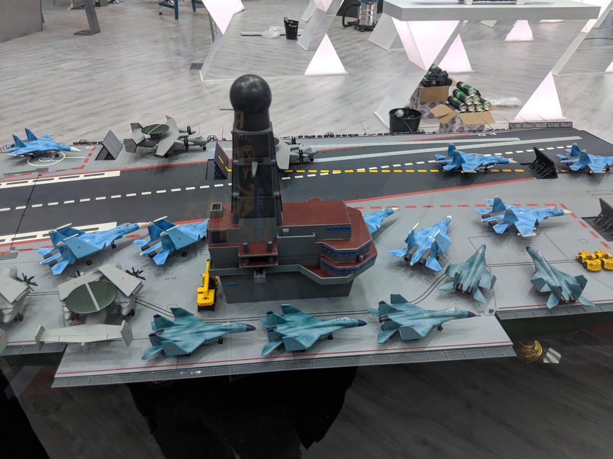 الكشف عن تصميم حاملة الطائرات النوويه الروسيه  Project 11430E 'Lamantin' D_JD6JKXUAAyPsw