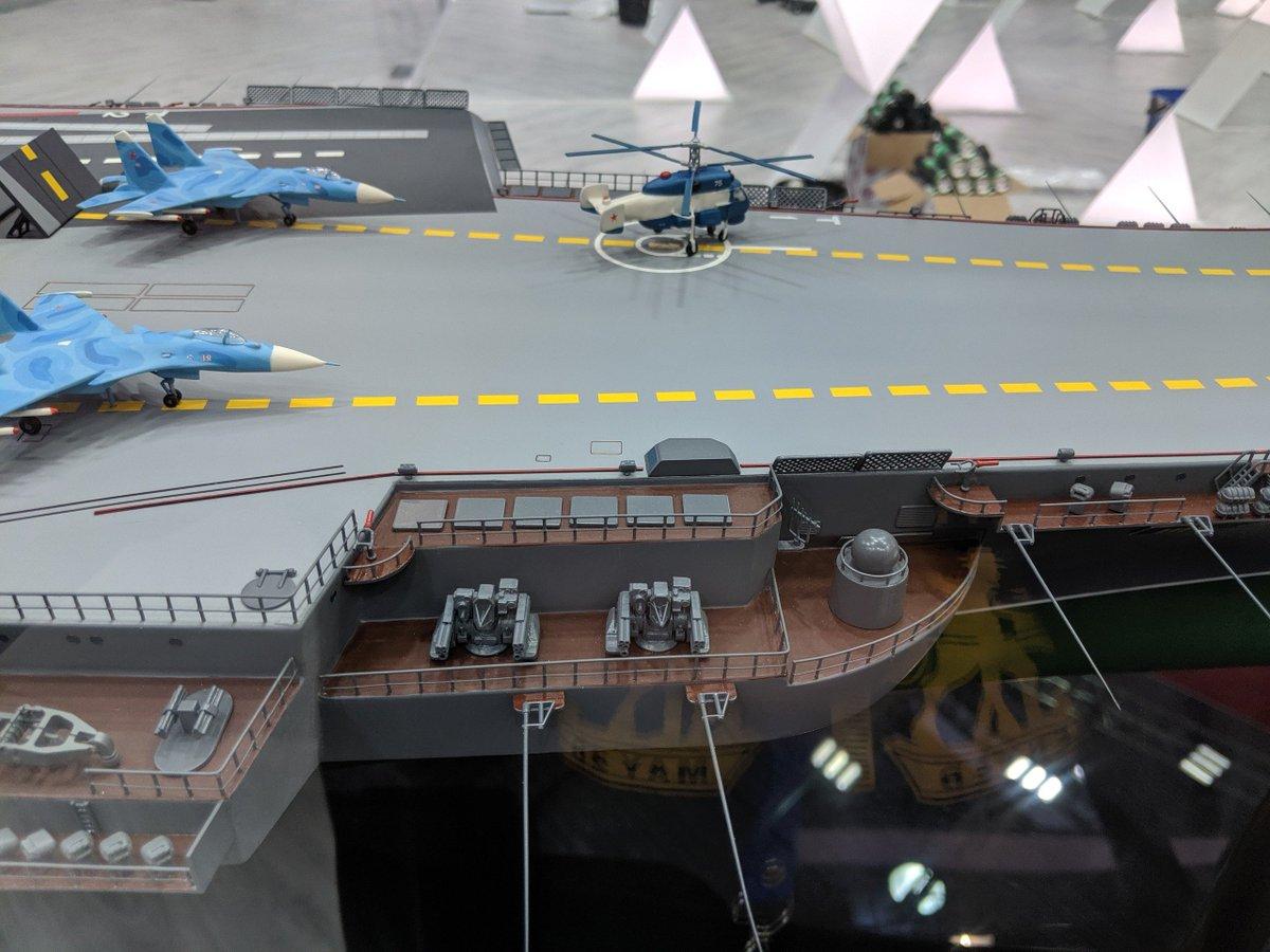 الكشف عن تصميم حاملة الطائرات النوويه الروسيه  Project 11430E 'Lamantin' D_JD8mIXkAAXQxX