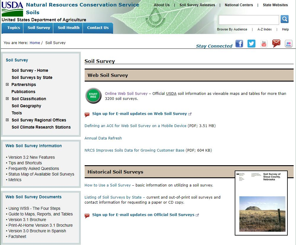 NCSS National Cooperative Soil Survey (@NCSS1899) | Twitter