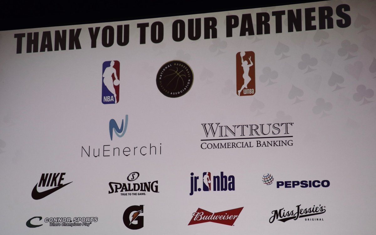 What's our favorite part of #NBASummerLeague? #LegendsConference of course!  Thank you to our partners at @budweiserusa, @Connor_Sports, @Miss_Jessies, @Nike, @NuEnerchi, @TheNBPA, @NBA, @Spalding and @Wintrust for making the 2019 #LegendsConference so special!