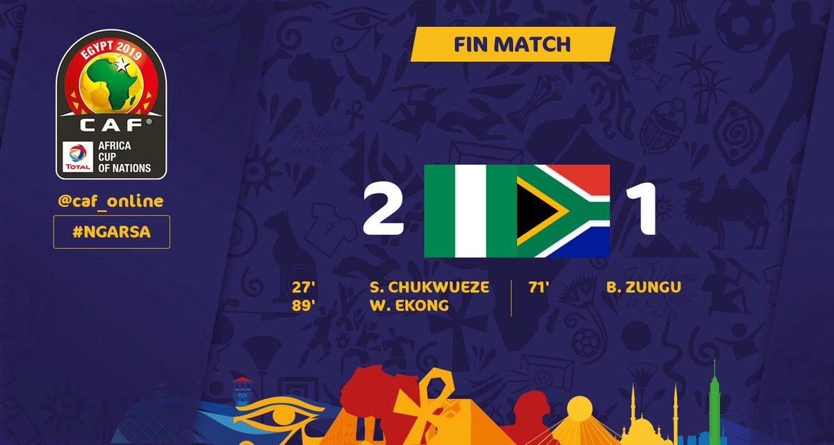 Nigéria-Afrique du Sud