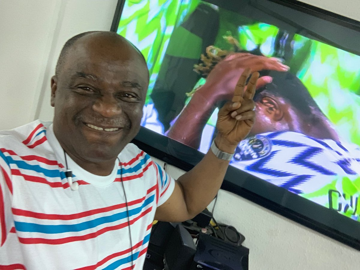 """Watched The Last Minutes Of The Game Without Stress"" - ACP Olatunji Disu Celebrate The Super Eagles Win"