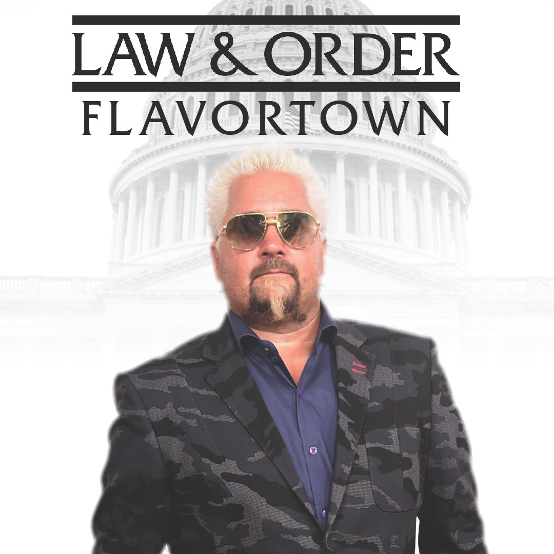 In the culinary justice system, taste-based offenses are considered especially heinous. In Flavortown, the one dedicated detective who investigates bland food is the leader of an elite squad known as the Sketchy Chef Unit. These are Guy's stories. #DUNDUN #TheLawsofFlavortown