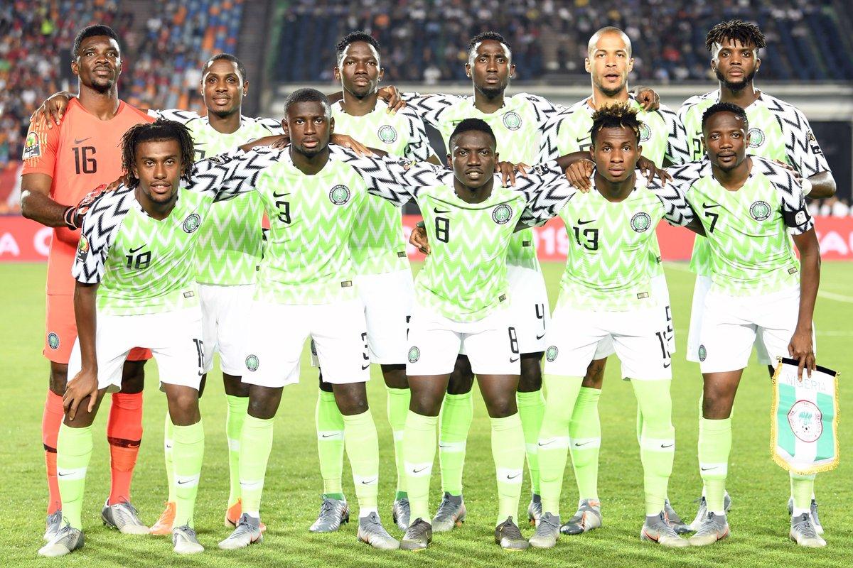 Congratulations to @alexiwobi and Nigeria - @NGSuperEagles have soared into the #AFCON2019 semi-final 🇳🇬  #SoarSuperEagles