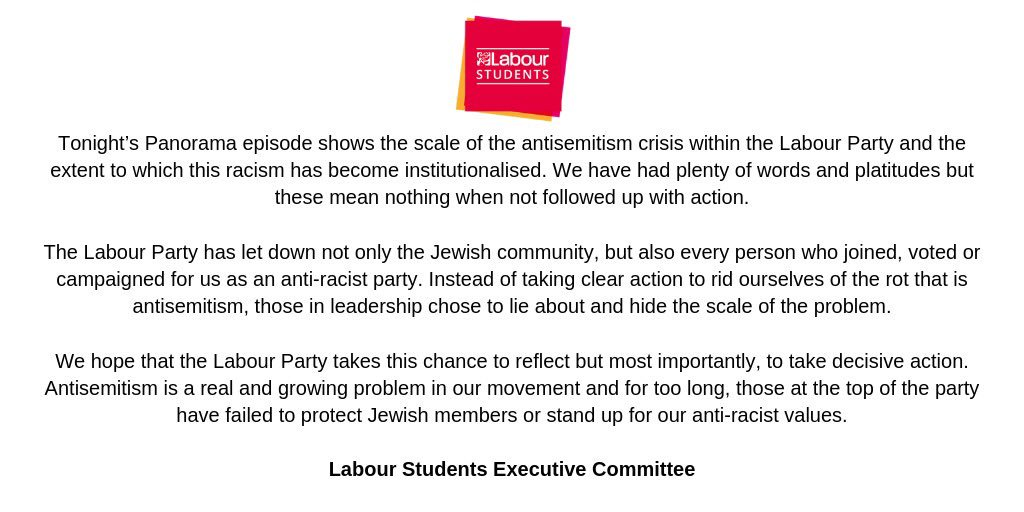 Labour Students on Twitter: