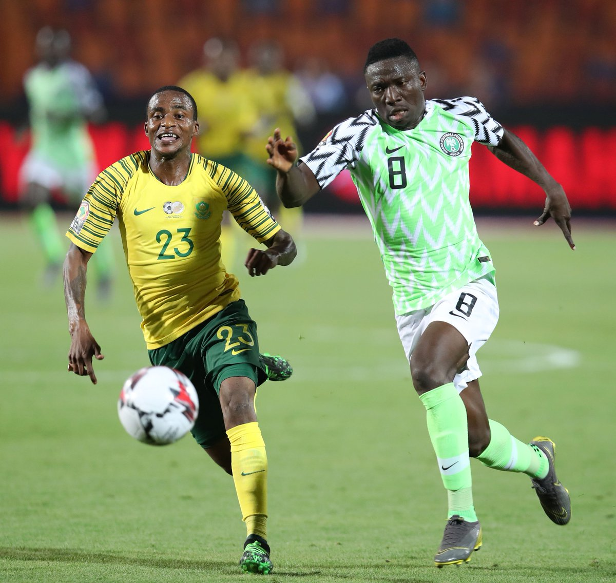 Image result for super eagles vs bafana bafana
