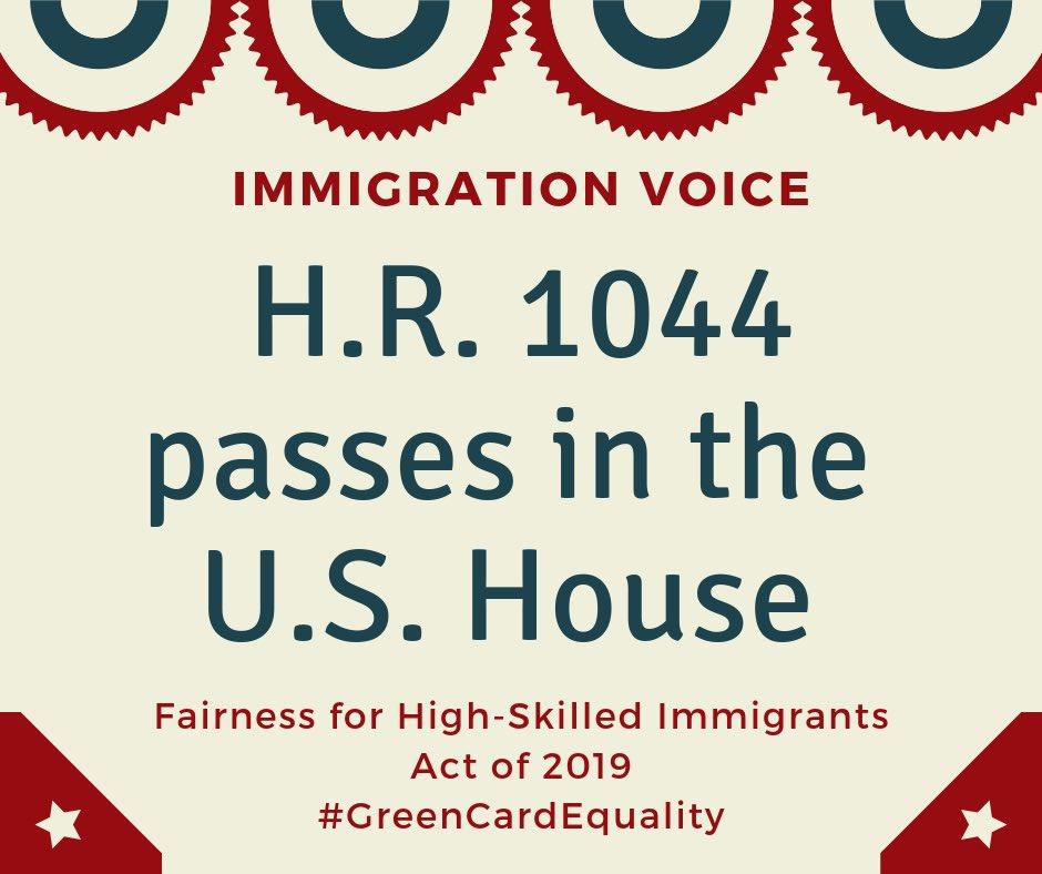Immigration Voice در توییتر