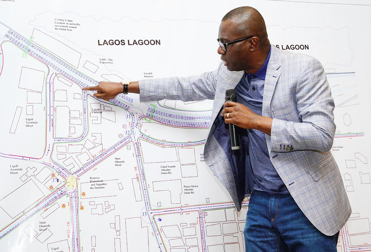 The Governor declared a toll-free passage at the toll plaza on Lekki-Epe Expressway and the Lekki-Ikoyi Link Bridge between 6:30am and 9:30am in the morning, and also at the peak period in the evening (4:30pm to 8pm). #LASG #ForAGreaterLagos