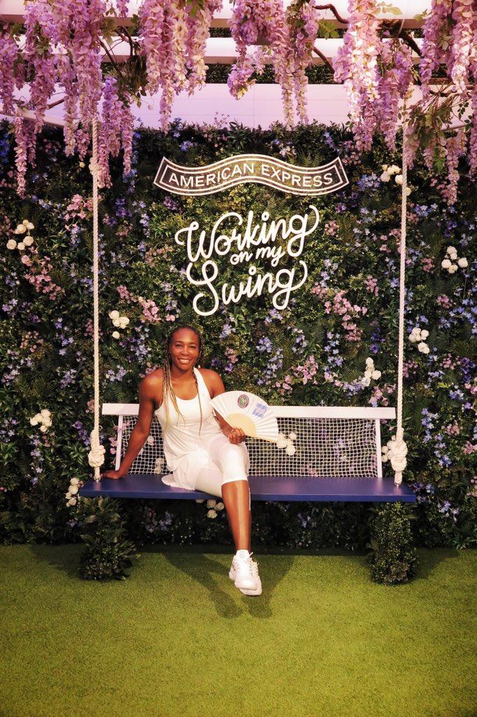 Venus Williams @Venuseswilliams