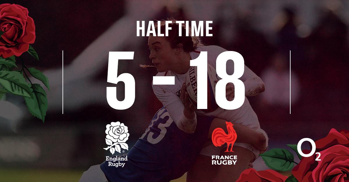 test Twitter Media - It's half time in San Diego and France have a 13-point lead over the #RedRoses.  Big second 40 needed 👊   Tune in and watch the action LIVE on @SkySports 📲 https://t.co/hpei2nL0IW