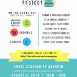 Image for the Tweet beginning: Great opportunity for @AnaheimElem families!