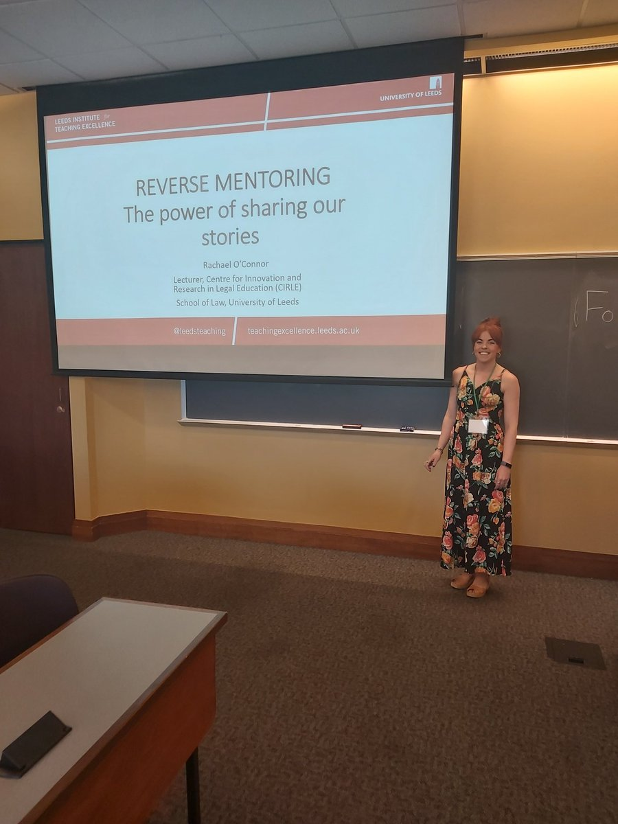 Thank you everyone who listened to me talk about #reversementoring at #legalstorytelling conference in Boulder! Your comments and feedback were so useful & have given me lots to think about! #internationalstudents #challengingbiases @Law_Leeds @cirle_leeds @leedsteaching<br>http://pic.twitter.com/1jXR1h8R7L