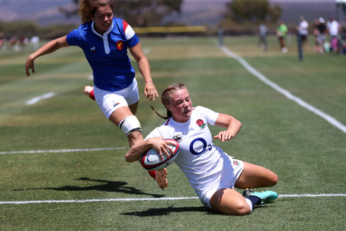 test Twitter Media - 44' 🏴 ENG 5 - 18 FRA 🇫🇷  📸 [Credit: Travis Prior]  #SuperSeries2019 https://t.co/oNyiMm9ir9